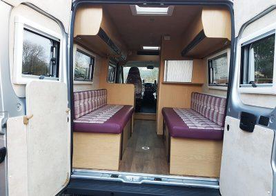 Peugeot Boxer Campervan Conversion - AJW Leisure Conversions - Preston, Lancashire