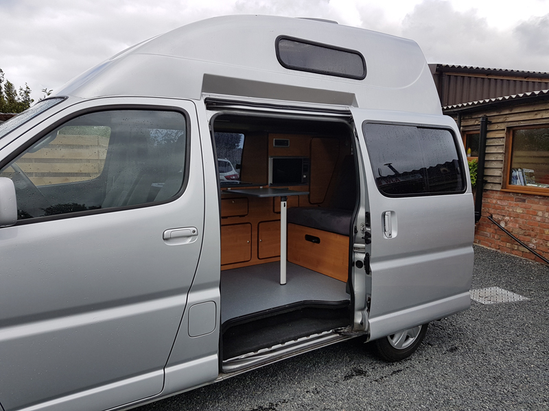Toyota Hiace Campervan Conversion - AJW Leisure Conversions