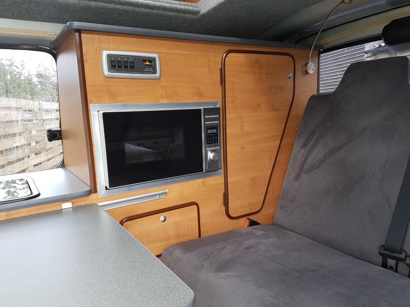 Toyota Hiace Campervan Conversion Ajw Leisure Conversions