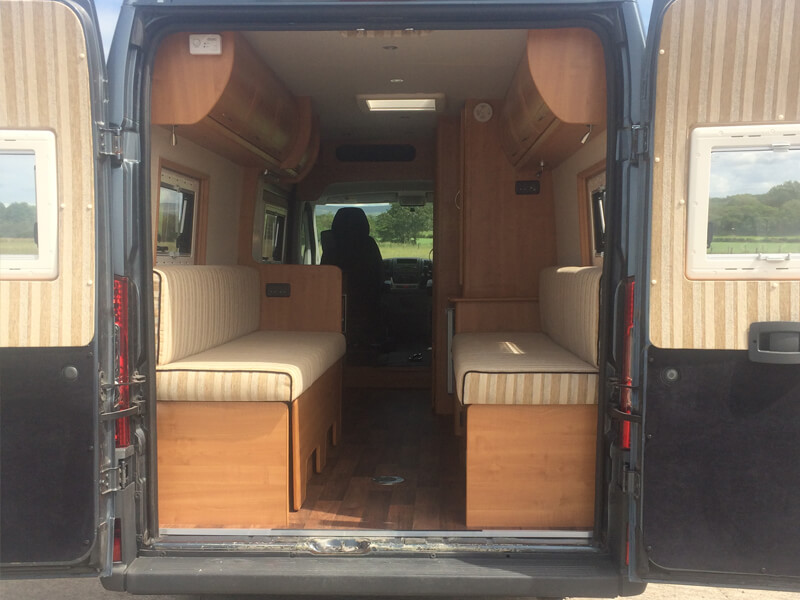 Fiat Ducato Campervan Conversion Ajw Leisure Conversions