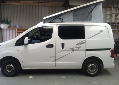 Nissan NV200 Campervan Conversion - AW Leisure Conversions - Preston, Lancashire