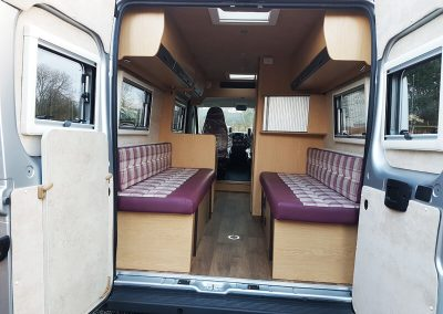 Peugeot Boxer Campervan Conversion - AW Leisure Conversions - Preston, Lancashire