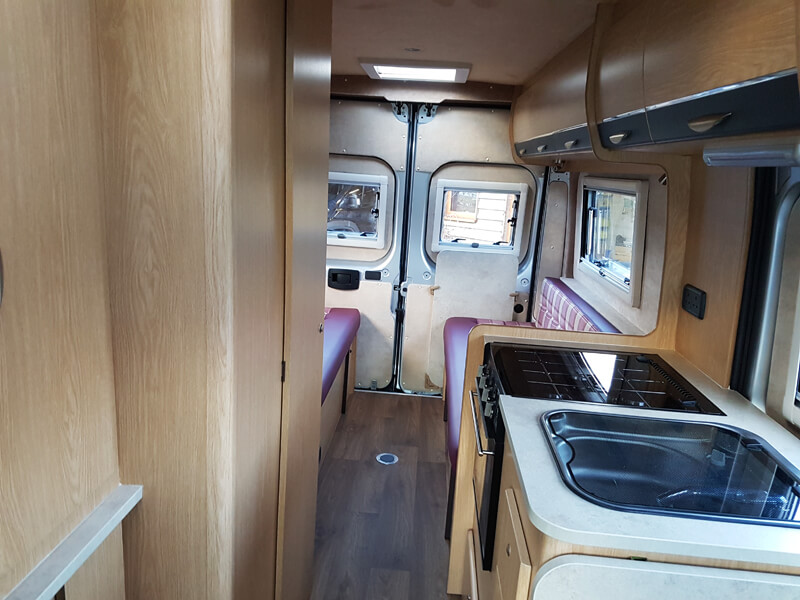 Peugeot Boxer Campervan Conversion Ajw Leisure Conversions