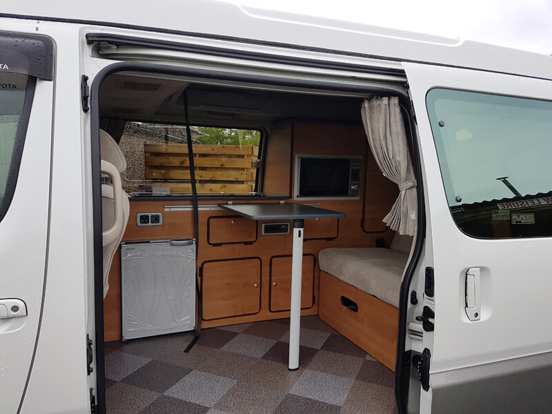 Toyota Granvia Camper Conversion Ajw Leisure Conversions